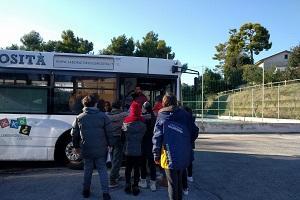 Il Bus di Xké? nelle Marche