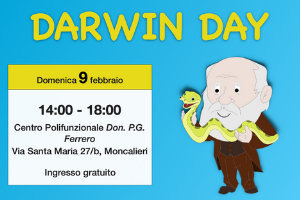 Il Xké? partecipa al Darwin Day a Moncalieri